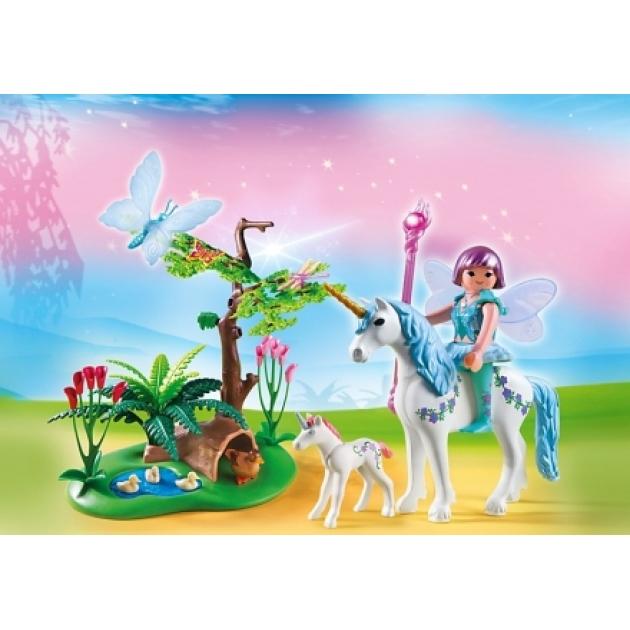 Playmobil Фея Акварелла на лугу с Единорогом 5450pm